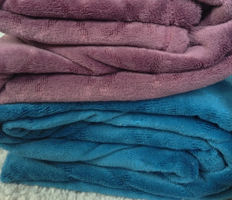 polyester coral fleece blankets